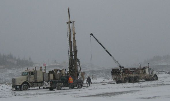 Winter Drill Site